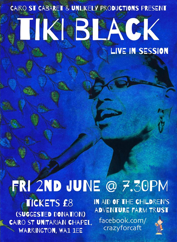 Tiki Black Live in aid of the Children's Adventure Farm Trust 02 Jun 2017