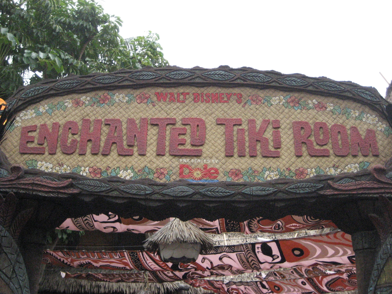Enchanted Tiki Room, Disneyland