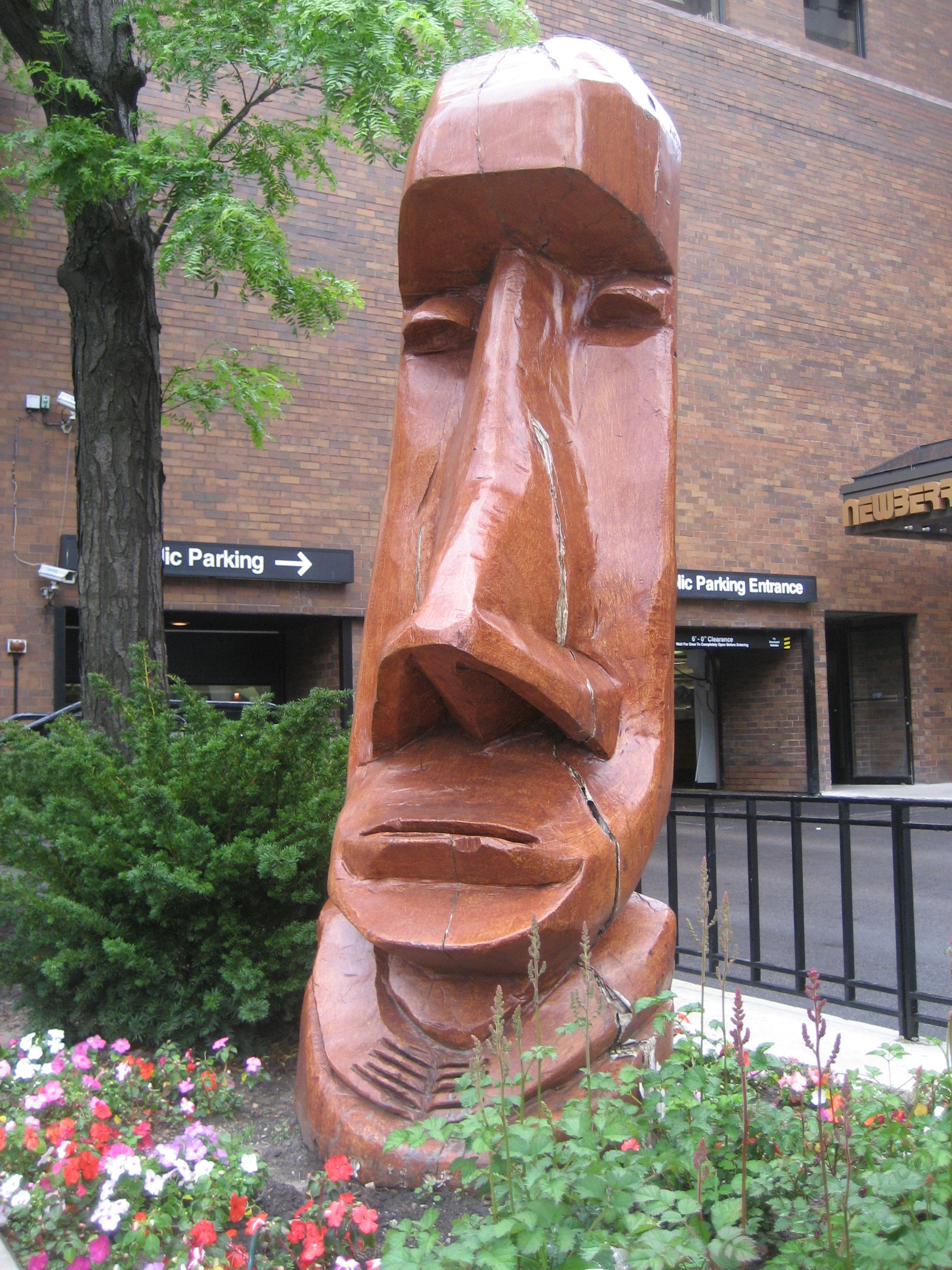 Outside Trader Vic's Chicago