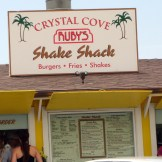 It was taking forever to get there so we stopped at The PCH Shake Shak for a burger. It was pretty sweet! (but In-n-Out is still better)