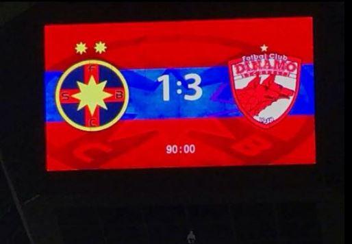 Cupa Ligii Adeplast, Steaua 1-3 Dinamo