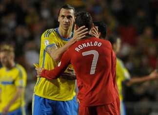 Zlatan vs Cristiano Ronaldo