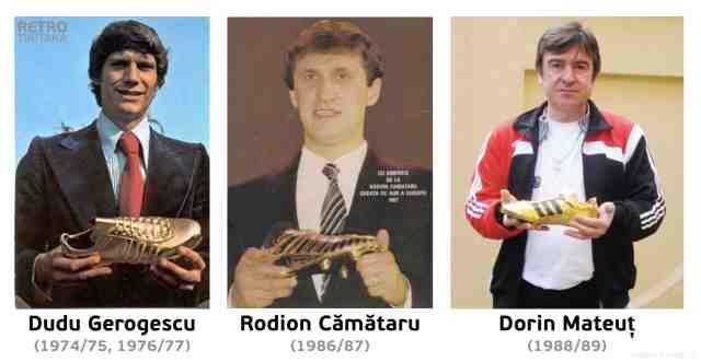 """Dinamoviștii care au câștigat """"Gheata de Aur"""""""