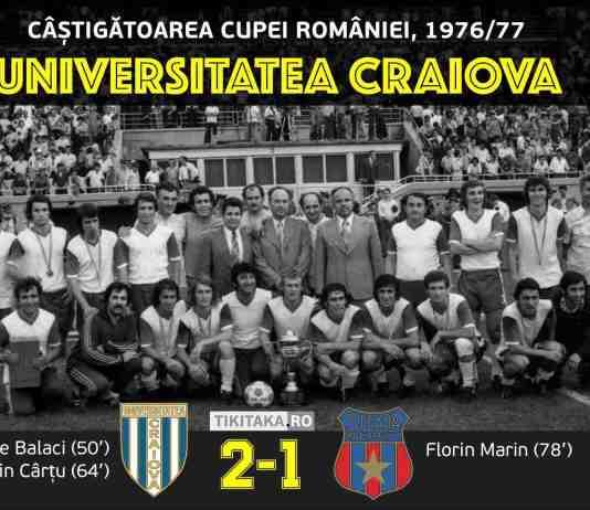 Craiova Steaua 1977