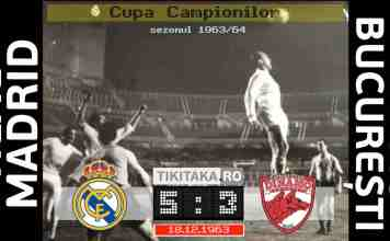 Real Madrid 5-3 Dinamo 1963