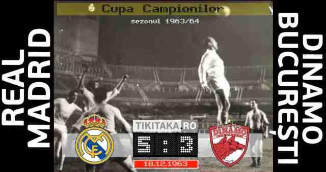 Real Madrid - Dinamo 1963
