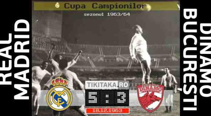 Real Madrid 5-3 Dinamo 1963