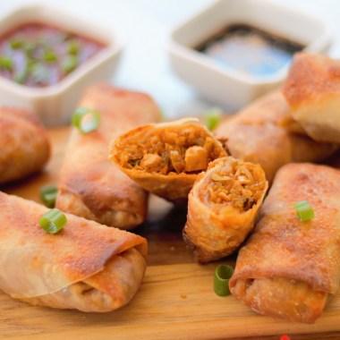 thai curry spring roll