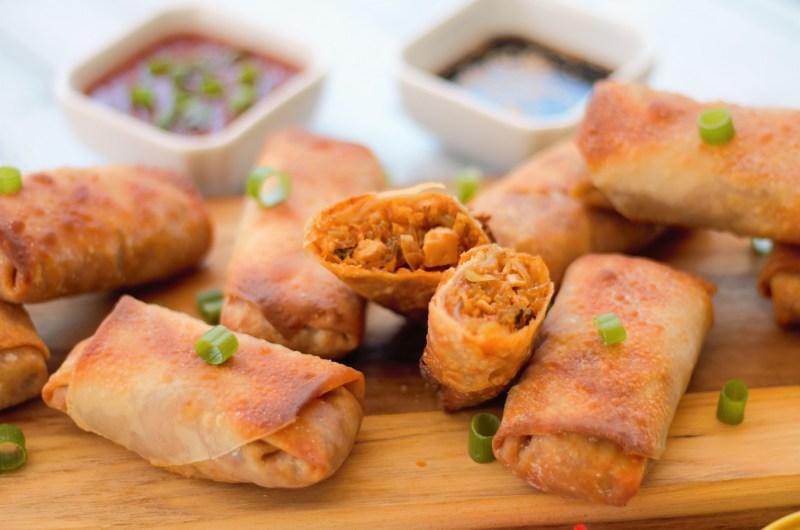 Thai Curry Spring Rolls