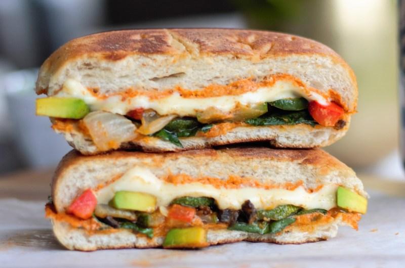 Chipotle Roasted Veggie & Avocado Melt