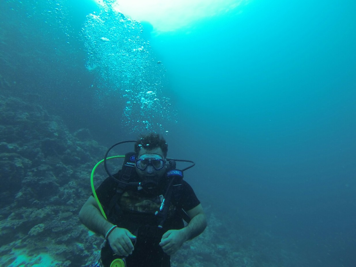 in the deep !!