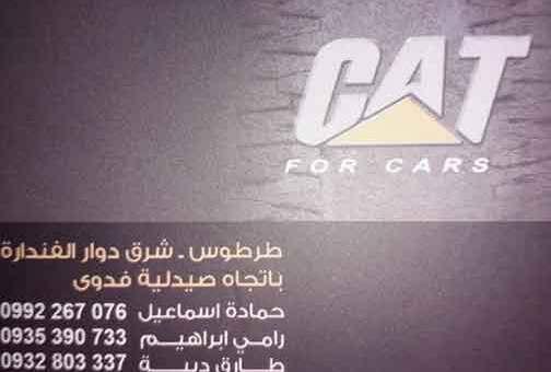 كاتر بيلر لتجارة السيارات والعقارات   طرطوس