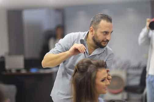 Salon Bassam Boulos   المزينة وادي النصارى حمص