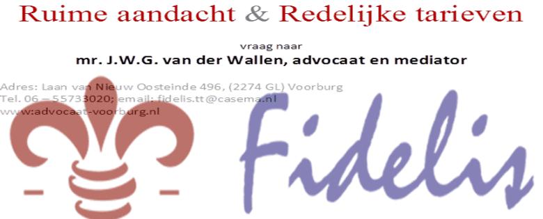 Fideles Adcvocaat & Mediator