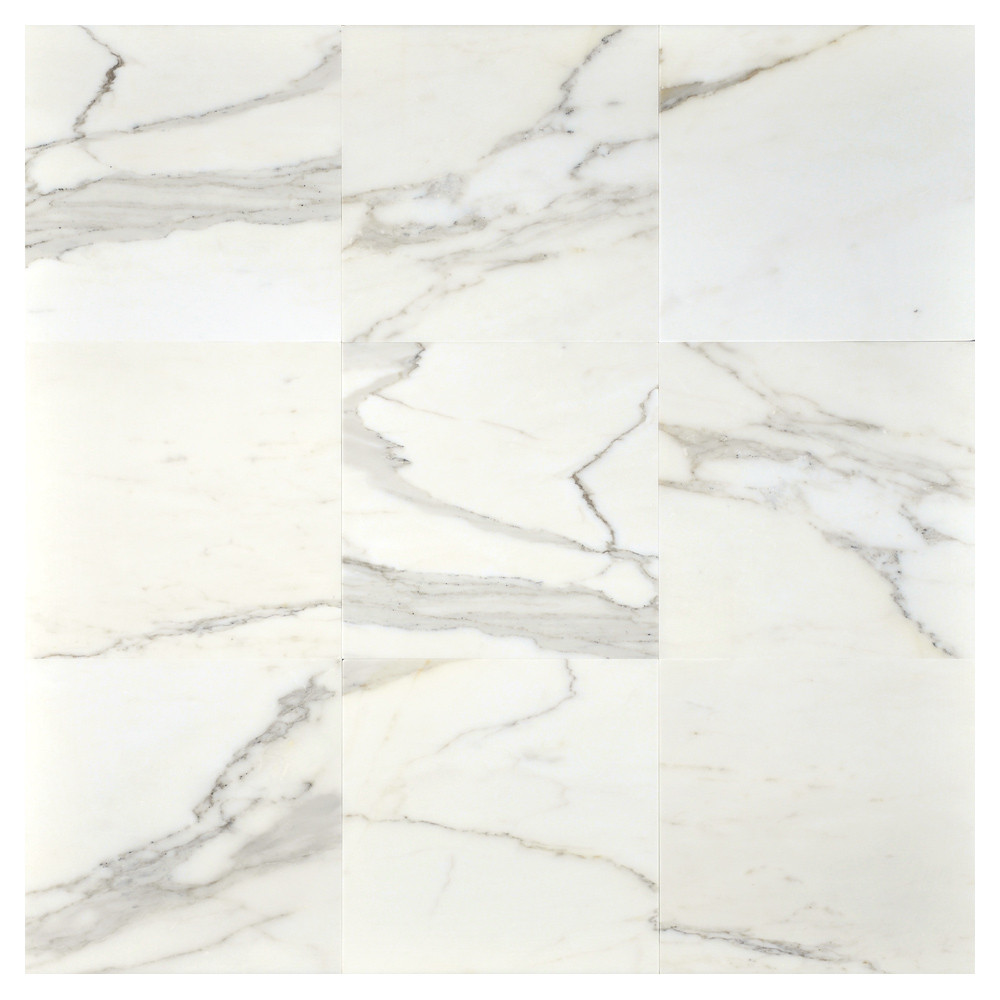 calacatta gold honed marble tile
