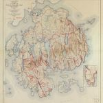 Topographic Map Acadia National Park And Vicinity Hancock County Maine Library Of Congress