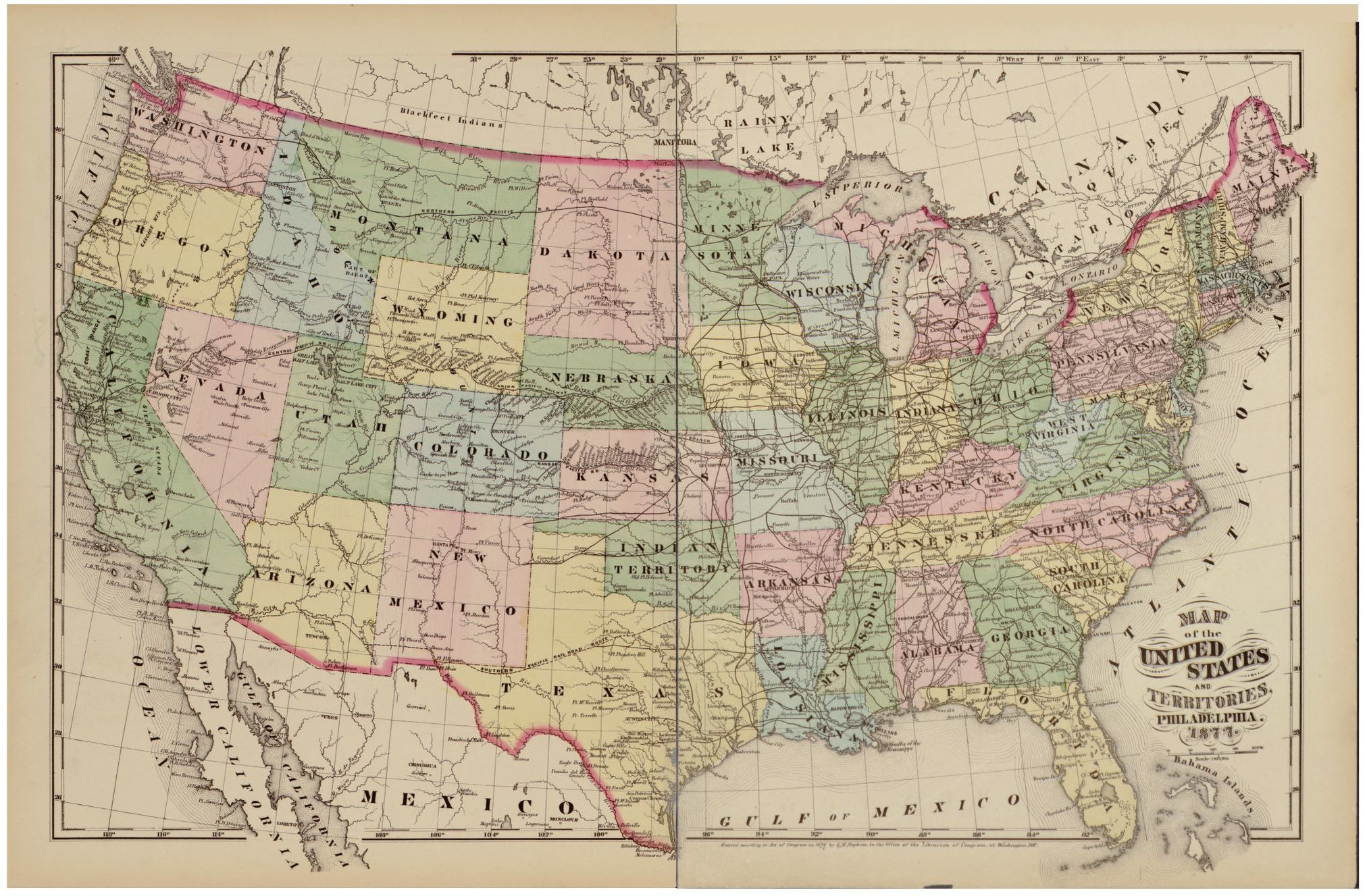 We see them every day, we use them when we travel, and we refer to them often, but what is a map? Map Of The United States And Territories Library Of Congress
