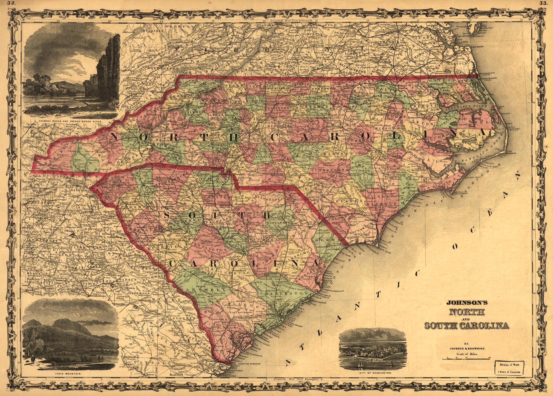 Johnson S North And South Carolina