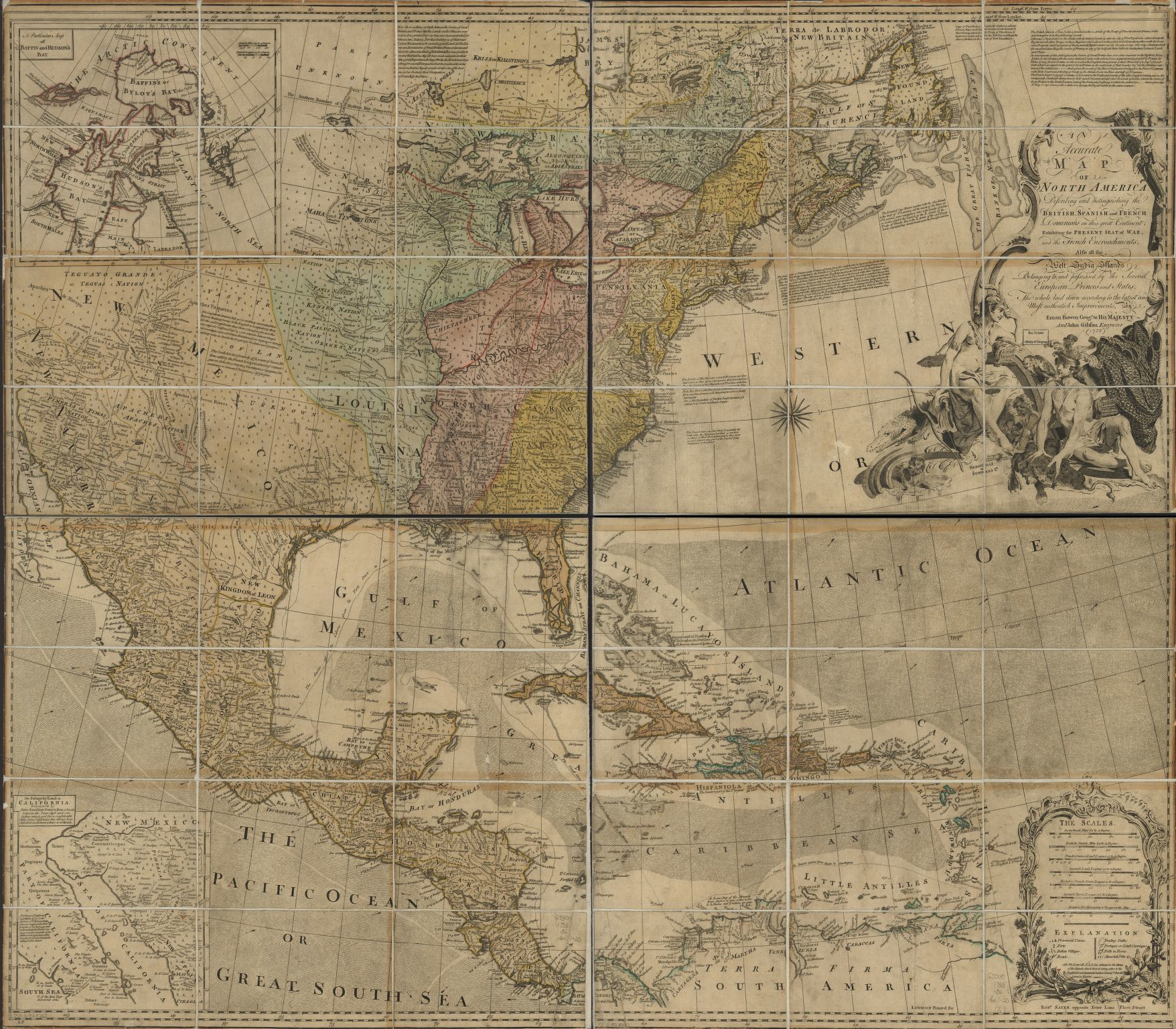 American Revolution And Its Era Maps And Charts Of North