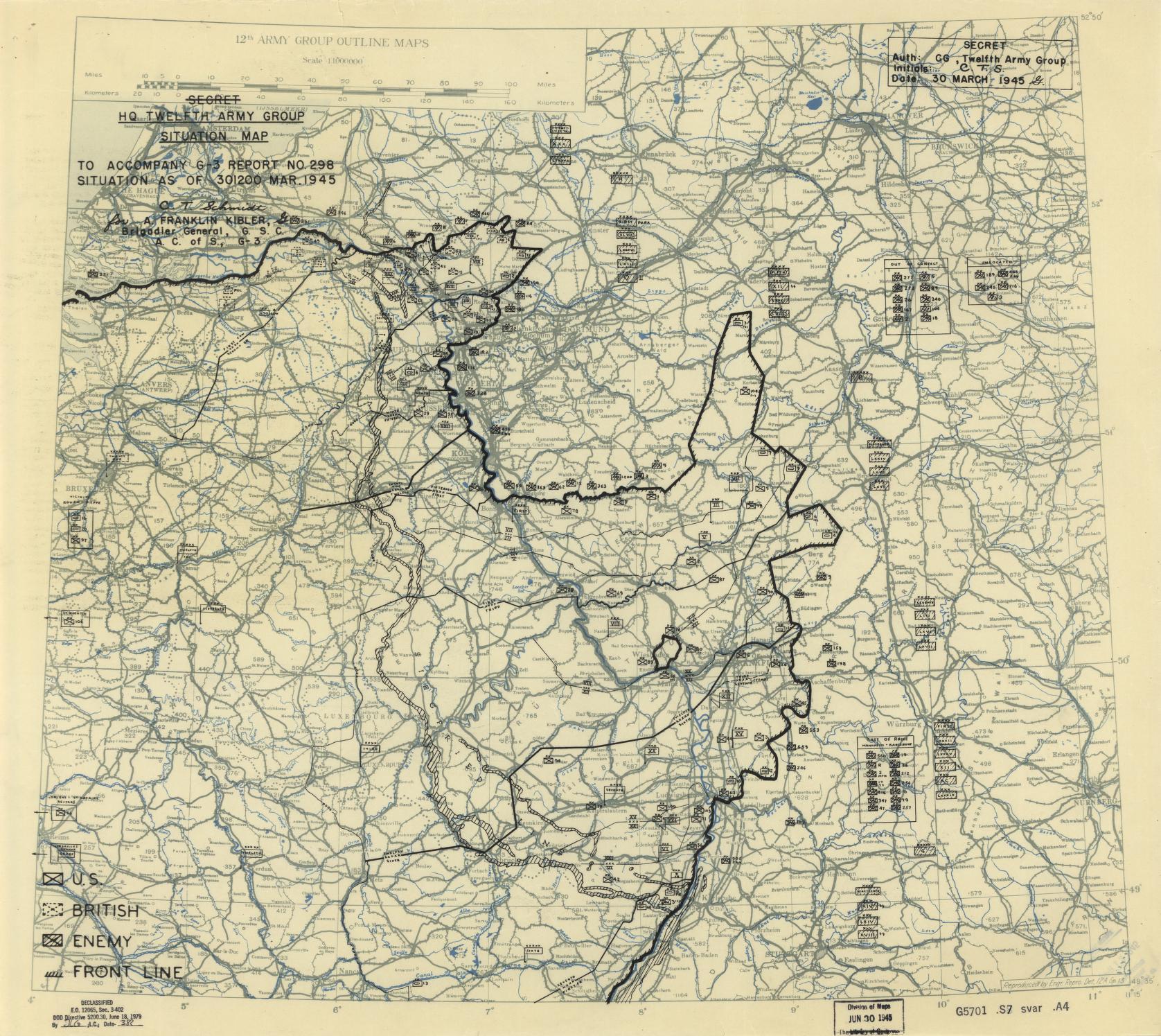 World War Ii Military Situation Maps