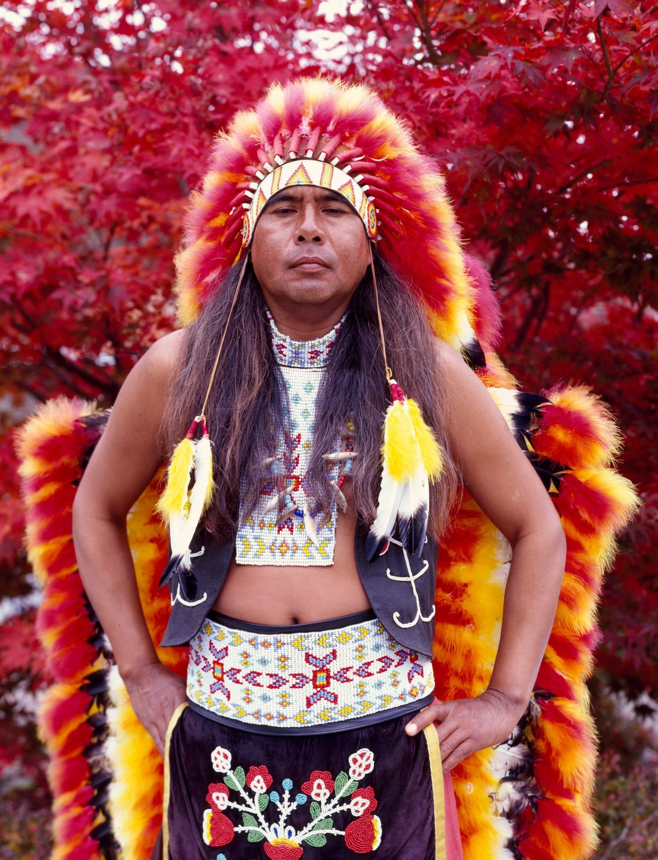 Dennis Wolfe A Full Blooded Cherokee Indian In Cherokee