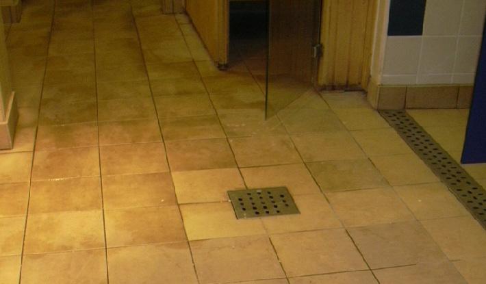 Bathroom Tile Floor Cleaning