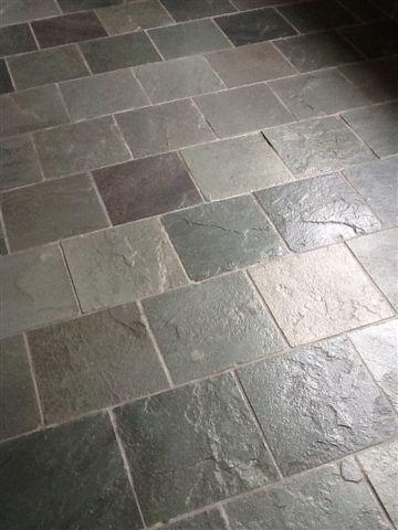 Slate Tile Floor Cleaning & Sealing Birmingham - Tile & Stone Medic
