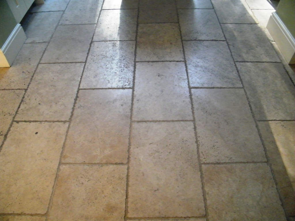Clean Very Dirty Stone Floor Kitchen