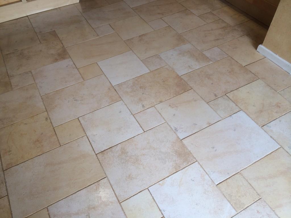ceramic tile floor cleaning sealing