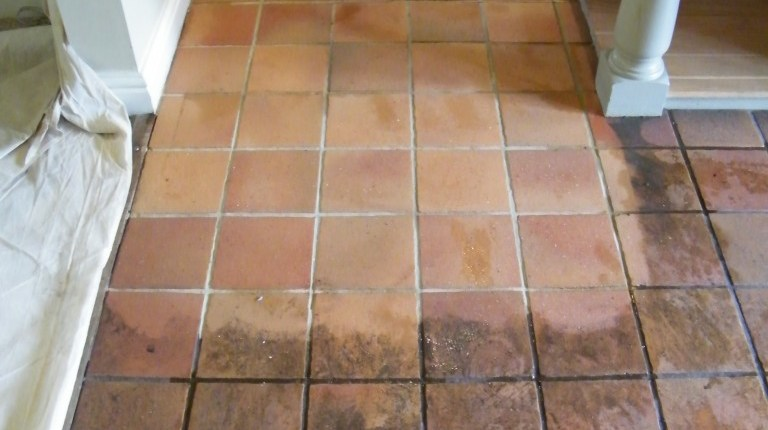 Quarry Tile Floor Cleaning Cheshire Tile Stone Medic