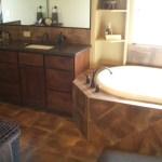 Dark Brown Porcelain Bath in Windsor, Colorado