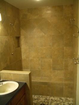 Kerdi Shower remodel in Fort Collins, Colorado