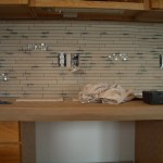 Installation Porcelain and Glass Kitchen Backsplash in Windsor