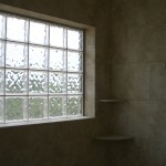 Glass Block exterior window installation in Loveland, Colorado