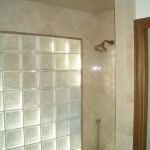 Glass Block window wall installation in Fort Collins, Colorado
