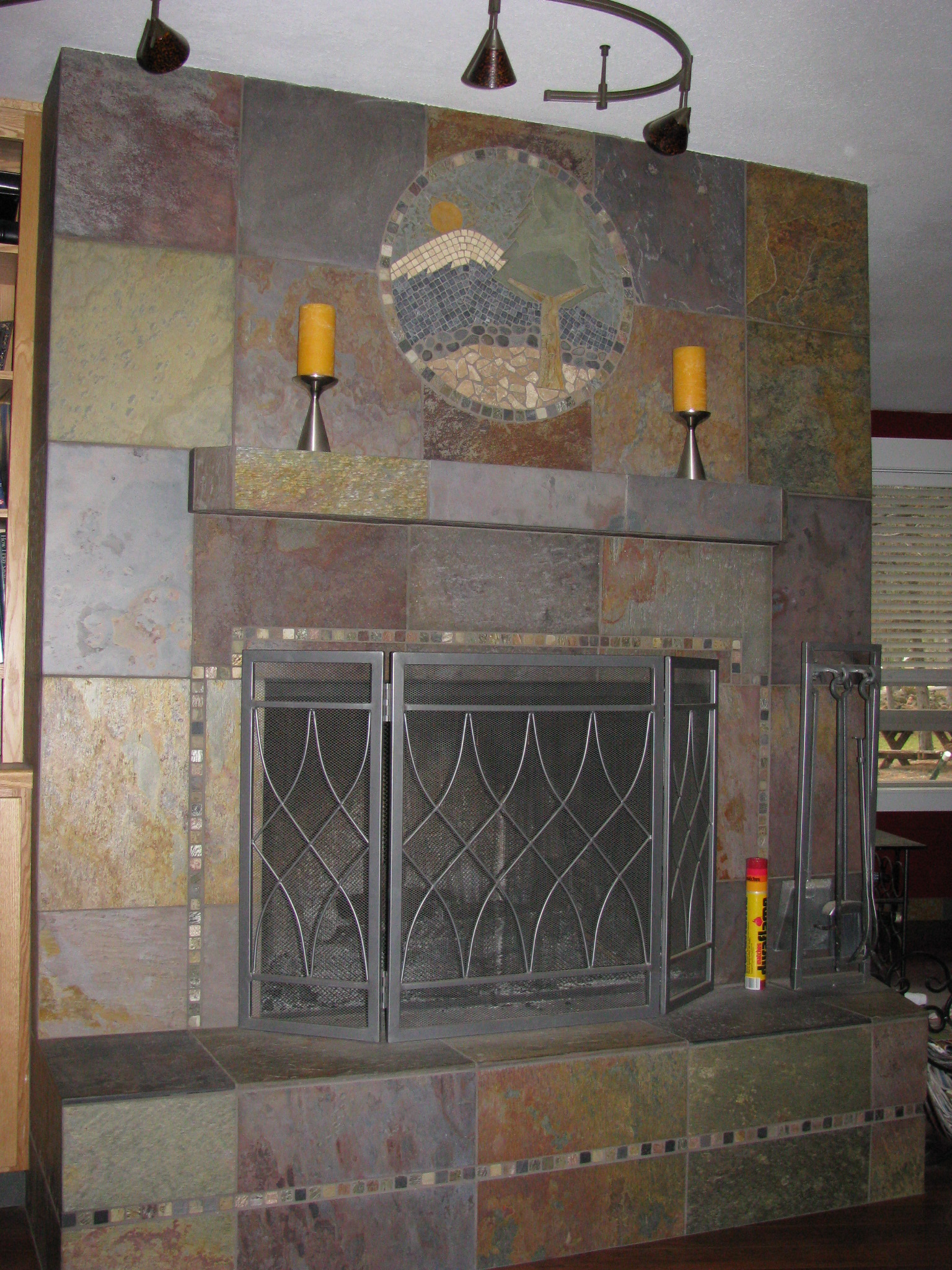 fireplaces tile bend oregon brian