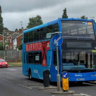 No 16 bus in Dark Lane