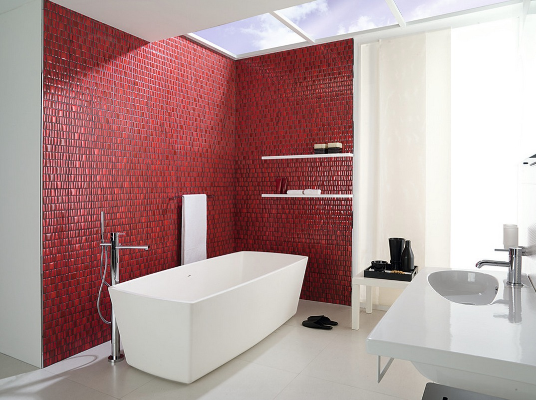 24 Magnificent Pictures And Ideas Decorative Bathroom Wall