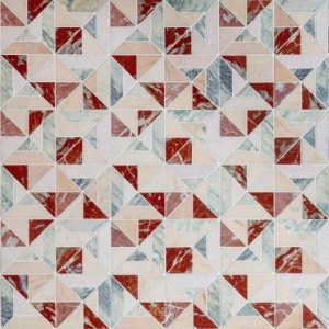 artistic tile offers explosion of color