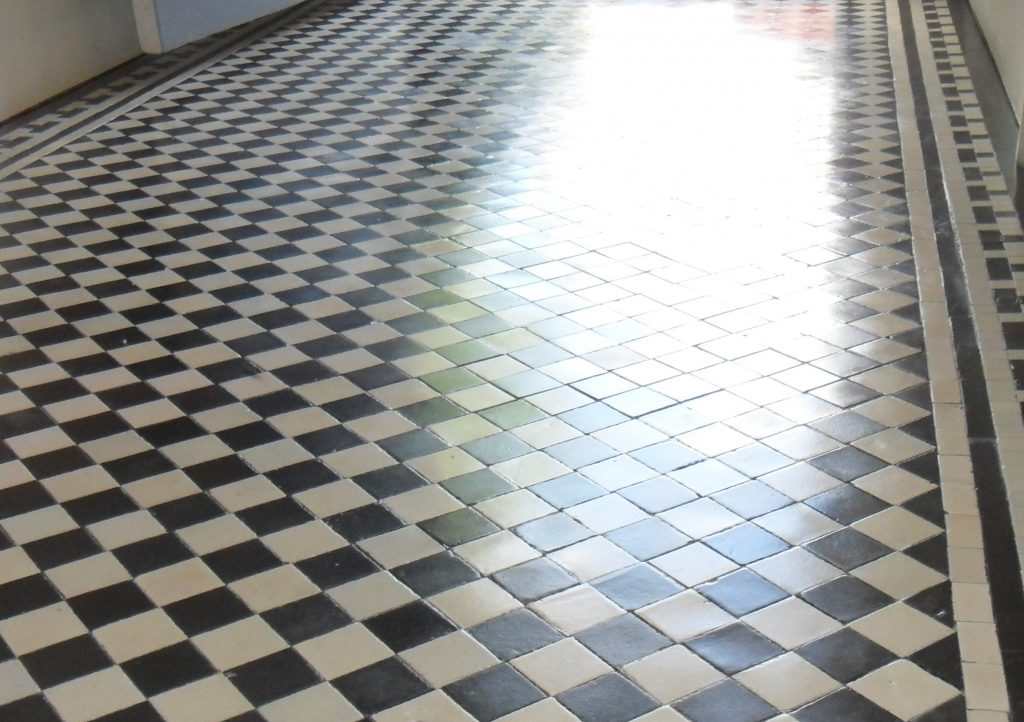 how to make victorian tiles shine