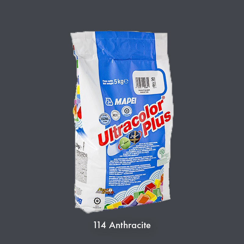 mapei ultracolor plus 114 anthracite 5kg