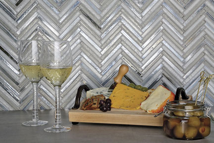 amukkale zig & zag pattern reflects colors of gray stone and icy blue waters