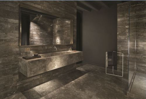 Daltile's Lithoverde is composed of 99% recycled stone.