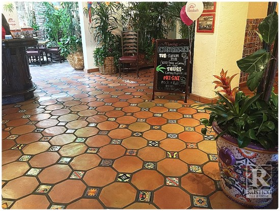 Combining Saltillo And Mexican Tile In Restaurant Design