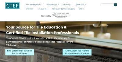 Ceramic Tile Education Foundation Launches New Website