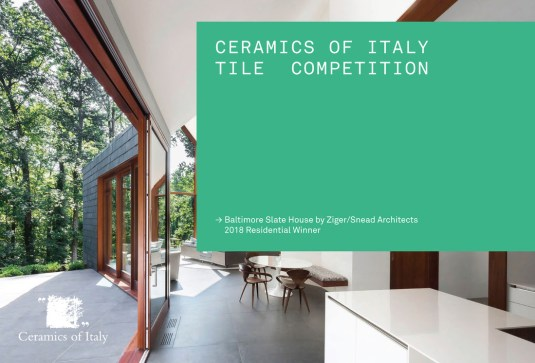 Call for Entries: 2019 Ceramics of Italy Tile Competition