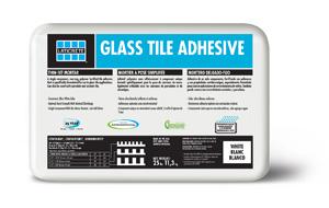 glass tiles glass tile adhesive mortar