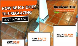 tile refinishing cost 2021 mexican