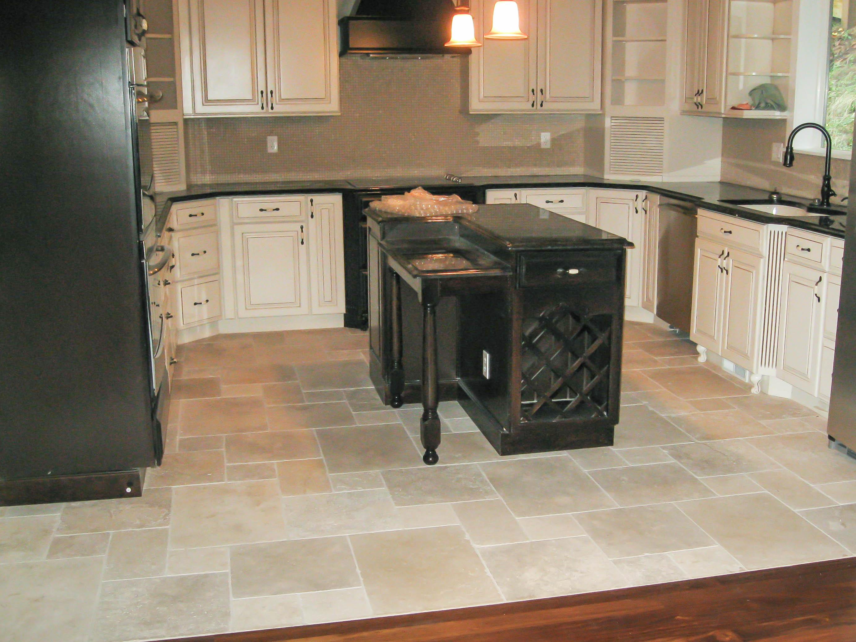 Grey Ceramic Kitchen Floor Tile   Novocom.top