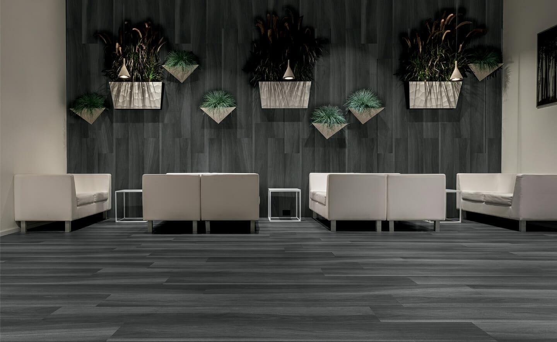 8x48 gardenia black wood tile tiles
